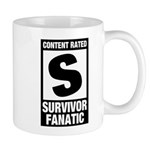 Content Rated S: Survivor Fanatic Mug