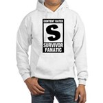 Content Rated S: Survivor Fanatic Hooded Sweatshirt