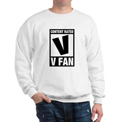 Content Rated V: V Fan Sweatshirt