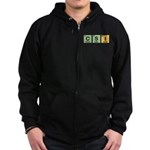 CSI Made of Elements Zip Hoodie (dark)