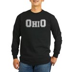 OhiO Boobies Long Sleeve Dark T-Shirt