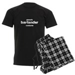 this is my bartender costume Men's Dark Pajamas