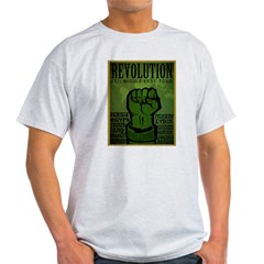 Middle East Revolution 2011 T Light T-Shirt