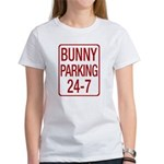 Bunny Parking Women's T-Shirt