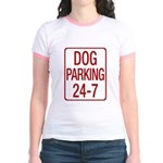 Dog Parking Jr. Ringer T-Shirt