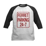 Ferret Parking Kids Baseball Jersey