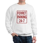 Ferret Parking Sweatshirt