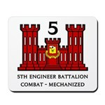 5th Engineer Battalion Mousepad