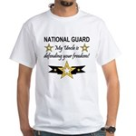 Army National Guard Uncle White T-Shirt