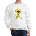 I love my Sailor - Yellow Ribbon Sweatshirt