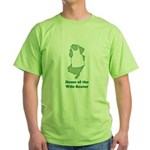 Home of the Wifebeater Green T-Shirt