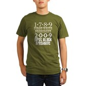 Presidential Firsts Organic Men's T-Shirt (dark)