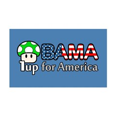 Obama 1up for America 35x21 Wall Decal