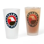 Obama For Peace Drinking Glass