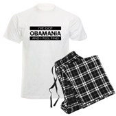 I've Got Obamania! Men's Light Pajamas