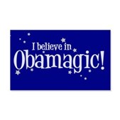 I Believe in Obamagic 22x14 Wall Peel