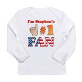 I'm Stephen's #1 Fan Long Sleeve Infant T-Shirt