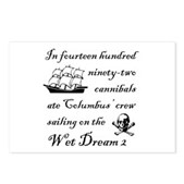 1492 on the Wet Dream 2 Postcards (Package of 8)