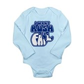 I Want Rush to Fail Long Sleeve Infant Bodysuit