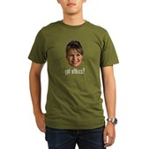 Anti-Palin Got Ethics? Organic Men's T-Shirt (dark