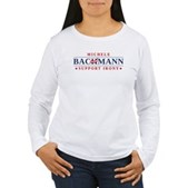Anti-Bachmann Irony Women's Long Sleeve T-Shirt