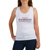 Anti-Bachmann Irony Women's Tank Top