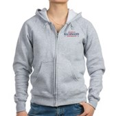 Funny Bachmann Toothpaste Women's Zip Hoodie