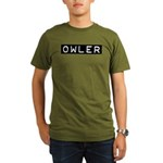 Owler Label Organic Men's T-Shirt (dark)