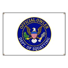 Official Owling Dept Seal Banner