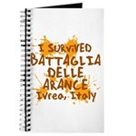 Ivrea Battle Of The Oranges Souvenirs Gifts Tees Journal