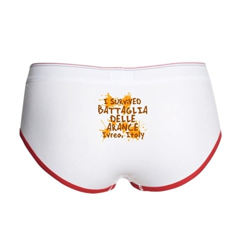 Battle of Oranges Women's Boy Brief