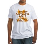 Ivrea Battle Of The Oranges Souvenirs Gifts Tees Fitted T-Shirt
