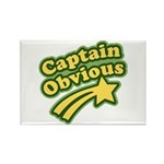Captain Obvious Rectangle Magnet