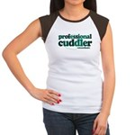 Professional Cuddler Women's Cap Sleeve T-Shirt
