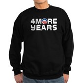 4 More Years Sweatshirt (dark)