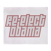 Re-Elect Obama Stadium Blanket