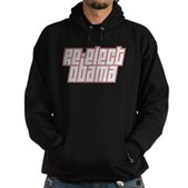 Re-Elect Obama Hoodie (dark)