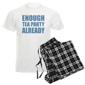 Enough Tea Party Already Men's Light Pajamas
