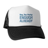 Hey, Tea Party Trucker Hat