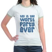 Worst Party Ever Jr. Ringer T-Shirt