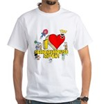 I Heart Schoolhouse Rock! White T-Shirt