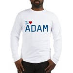 I Heart Adam Long Sleeve T-Shirt
