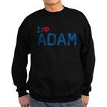 I Heart Adam Dark Sweatshirt (dark)