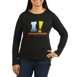 I ! Halloween Women's Long Sleeve Dark T-Shirt