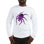 Purple Spider Long Sleeve T-Shirt