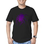 Purple Spider Men's Fitted T-Shirt (dark)