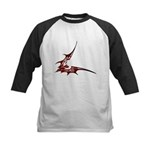 Vampire Bat 1 Kids Baseball Jersey