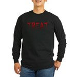 Bloody Treat Long Sleeve Dark T-Shirt