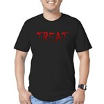 Bloody Treat Men's Fitted T-Shirt (dark)