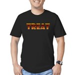 Glowing Treat Men's Fitted T-Shirt (dark)